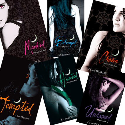 Bbw final post the house of night series for Housse of night
