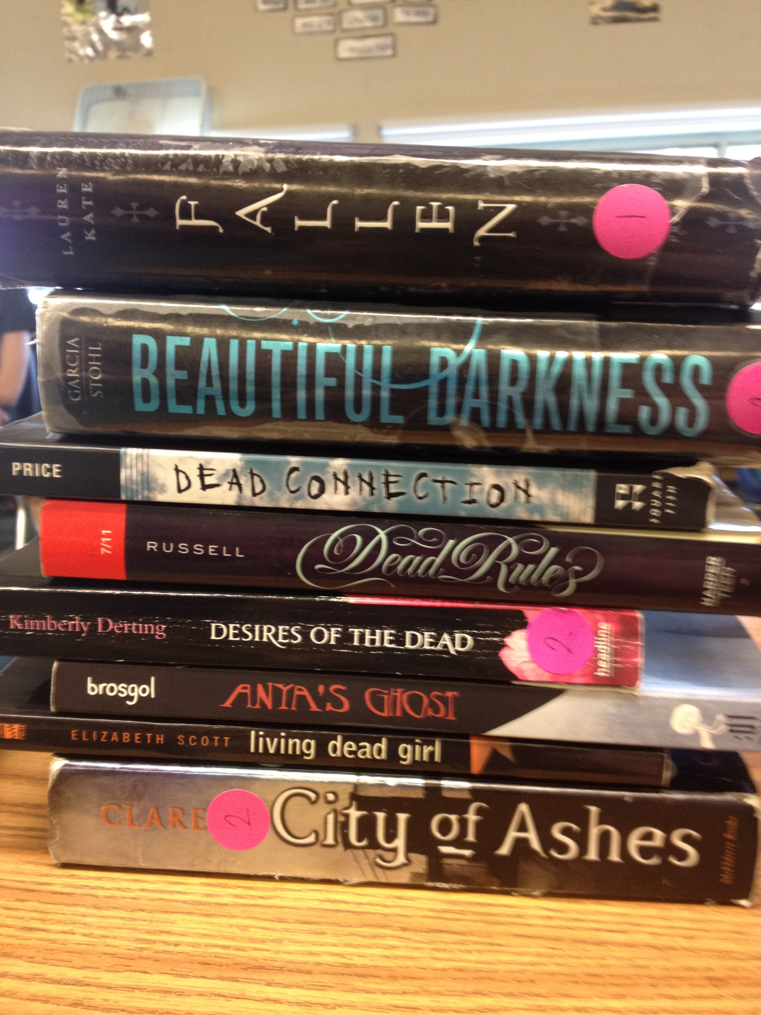 Students' Spine Poems