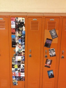 Kaelyn & Hannah M's locker and Kara's locker