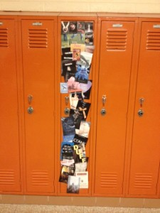 Madi's locker