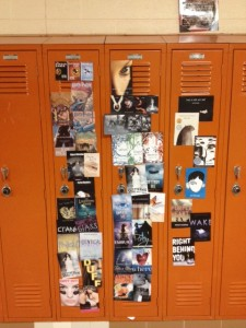 Megan & Marissa's locker next to Morgan T's