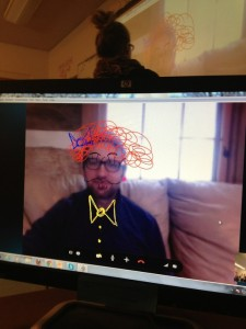 Skype with Geoff 1