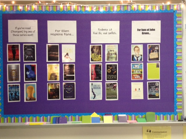Book Rec Bulletin Board