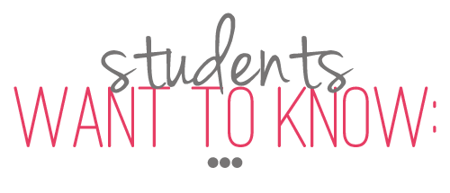 Students Want to Know